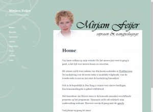 website MirjamFeijer
